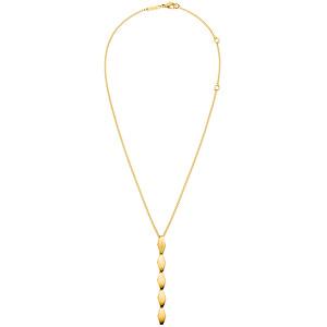 Calvin Klein Zlatý náhrdelník Snake KJ5DJN100100