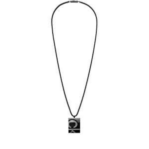 Calvin Klein Pánsky oceľový náhrdelník Embossed KJDUBP180100
