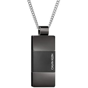 Calvin Klein Pánsky oceľový náhrdelník Strong KJ9LBP180100