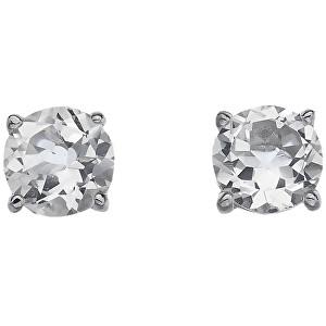 Hot Diamonds Strieborné náušnice Hot Diamonds Anais biely Topaz AE004