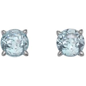 Hot Diamonds Strieborné náušnice Hot Diamonds Anais modrý Topaz AE012