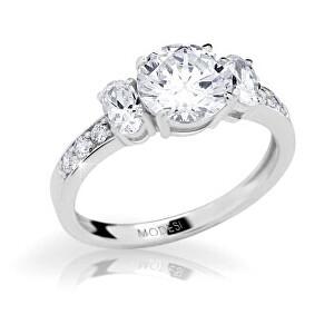 Modesi Elegantný zásnubný prsteň JA17250CZ 56 mm