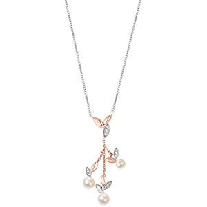 Morellato Oceľový bicolor náhrdelník Gioia SAER11