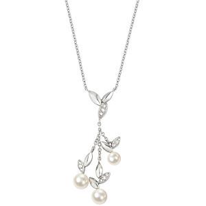 Morellato Oceľový náhrdelník s perlami Gioia SAER17