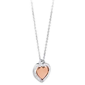 S`Agapõ Slušivý oceľový náhrdelník Carillon SCN01