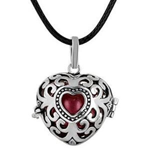 MUMMY BELL Dámsky náhrdelník Rolnička Srdce Vintage K9SC18