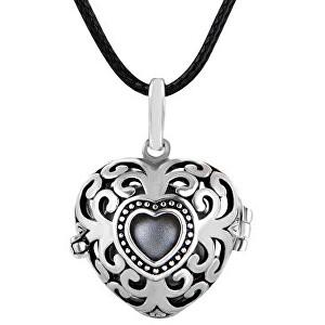 MUMMY BELL Dámsky náhrdelník Rolnička Srdce Vintage K9SS18