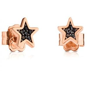 Tous Luxusní drobné hvězdičkové náušnice se spinely 414933530