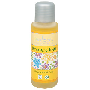 Saloos Bio telový a masážny olej - Deväť kvetov 250 ml