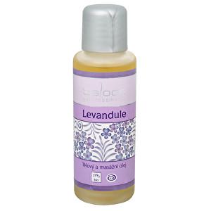 Saloos Bio telový a masážny olej - Levanduľa 125 ml