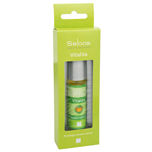 Fotografie Saloos Bio Aroma roll-on - Vitalita 9 ml