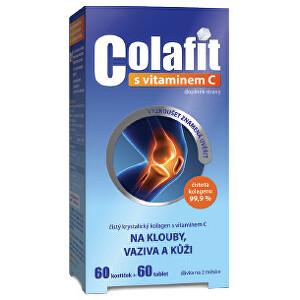 Zobrazit detail výrobku Aurovitas Colafit (čistý kolagen) s vitamínem C 60 kostiček + 60 tbl.