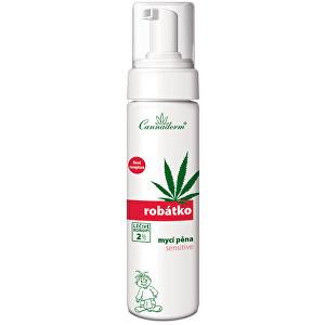 Zobrazit detail výrobku Cannaderm Robátko mycí pěna Sensitive 200 ml