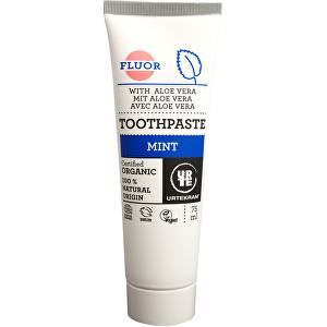 Levně Urtekram Zubní pasta máta s fluorem 75 ml BIO
