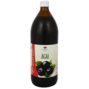 Zobrazit detail výrobku EkoMedica Czech Acai - 100% šťáva z acai 500 ml