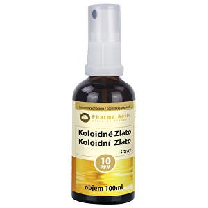 Zobrazit detail výrobku Pharma Activ Koloidní zlato 10ppm 100 ml spray