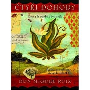 Zobrazit detail výrobku Knihy Čtyři dohody - kniha moudrosti starých Toltéků - ilustrované vyd. (Don Miguel Ruiz)