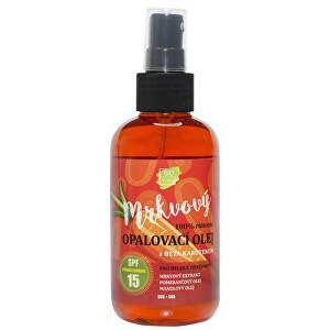 Zobrazit detail výrobku Vivaco Přírodní opalovací mrkvový olej OF 15 150 ml