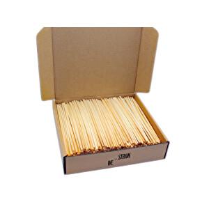 Zobrazit detail výrobku We-Straw We-Straw brčka ze slámy 500 ks