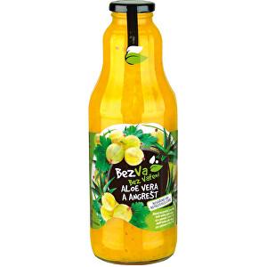 MADAMI S.R.O. Bezva 1000 ml Aloe Vera a Angrešt
