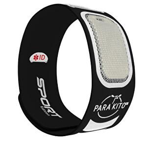 Zobrazit detail výrobku PARA`KITO Sportovní náramek proti komárům PARA`KITO + 2 náplně Černý