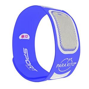 Zobrazit detail výrobku PARA`KITO Sportovní náramek proti komárům PARA`KITO + 2 náplně Modrý