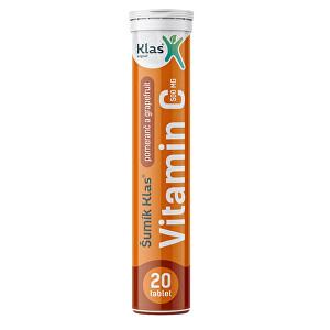 Zobrazit detail výrobku Klas Šumík Klas Vitamin C 500 mg 20 tablet