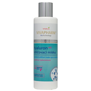 Zobrazit detail výrobku Vivapharm Hyaluronové odličovací mléko 200 ml