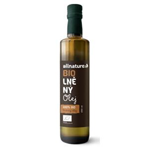 Zobrazit detail výrobku Allnature Lněný olej BIO 250 ml