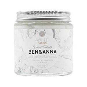 Zobrazit detail výrobku BEN & ANNA Zubní pasta bílá s fluoridem, 100 ml