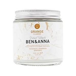 Zobrazit detail výrobku BEN & ANNA Zubní pasta s fluoridem, pomeranč, 100 ml