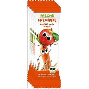 Zobrazit detail výrobku Freche Freunde BIO Ovocná tyčinka - Jablko a mrkev 4 x 23 g