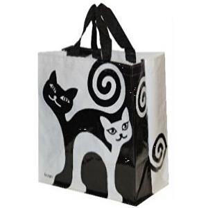 Zobrazit detail výrobku KPPS Taška lamino 24 l černobílé kočky