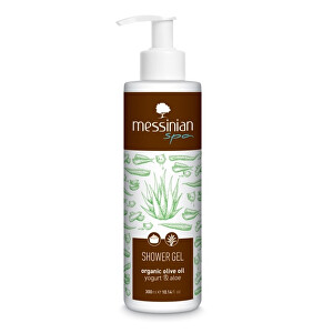 Messinian Spa Sprchový gel jogurt  aloe vera 300 ml