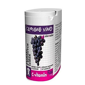 Zobrazit detail výrobku Rapeto C Vitamin Víno 60 tablet