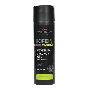Zobrazit detail výrobku Vivapharm Kofeinový sprchový gel 2v1 s mentholem pro muže 200 ml