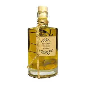 Zobrazit detail výrobku Nikoleta-Maria Extra Vergine olivový olej s česnekem a bylinkami 500 ml