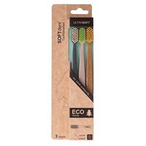 Zobrazit detail výrobku SOFTdent ECO zubní kartáček ultra soft 3 ks