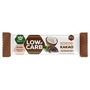 Zobrazit detail výrobku Topnatur LOW CARB tyčinka Kokos & Kakao 40 g