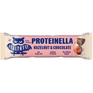 Zobrazit detail výrobku HealthyCo Proteinella Bar 35 g - čokoláda / lískový ořech