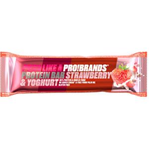 Zobrazit detail výrobku PRO!BRANDS Protein Bar 45 g - jahoda/jogurt