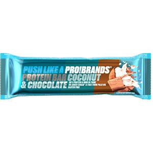 Zobrazit detail výrobku PRO!BRANDS Protein Bar 45 g - kokos