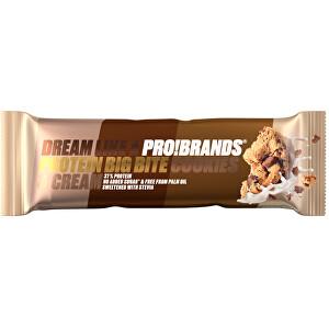 Zobrazit detail výrobku PRO!BRANDS PROTEIN BIG BITE 45 g - cookies & cream