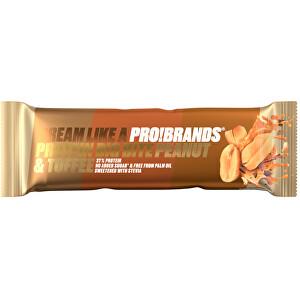 Zobrazit detail výrobku PRO!BRANDS PROTEIN BIG BITE 45 g - karamelovo-arašídová