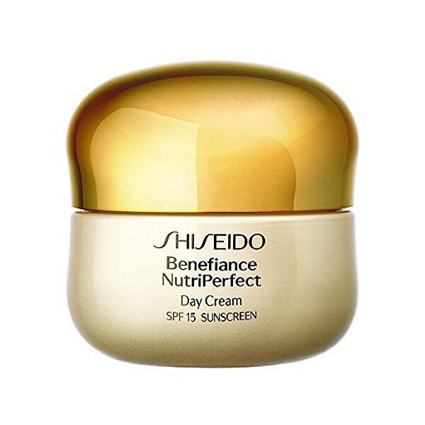 Levně Shiseido Obnovující denní krém Benefiance NutriPerfect SPF 15 (Day Cream) 50 ml