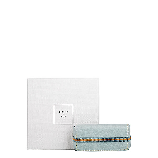Levně Eight & Bob Water Blue Leather - pouzdro na parfém 30 ml