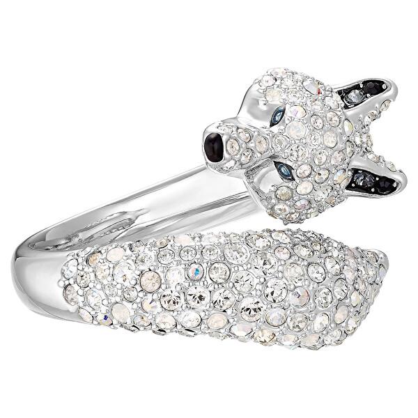 Levně Swarovski Originální prsten s krystaly Swarovski Polar Bestiary 5515050 mm