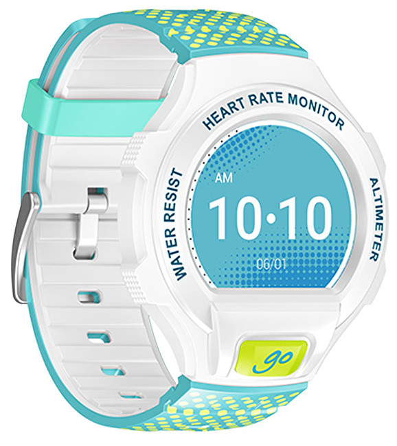 Alcatel ONETOUCH GO WATCH, White / Green & Blue