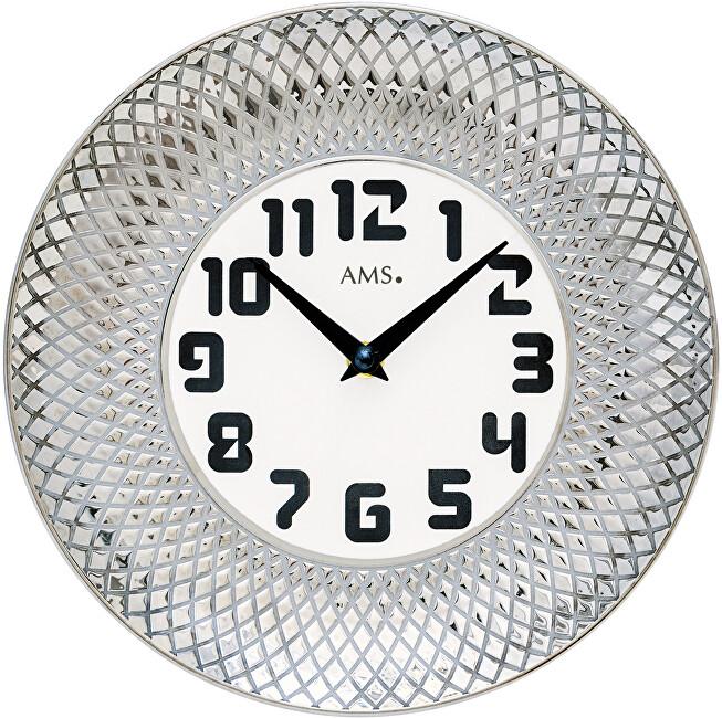 AMS Design Nástěnné keramické hodiny 9614