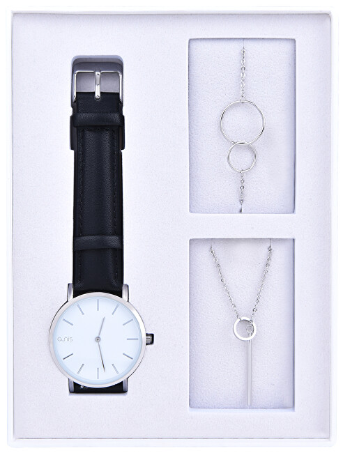 A-NIS Set hodinek, náhrdelníku a náramku AS100-02
